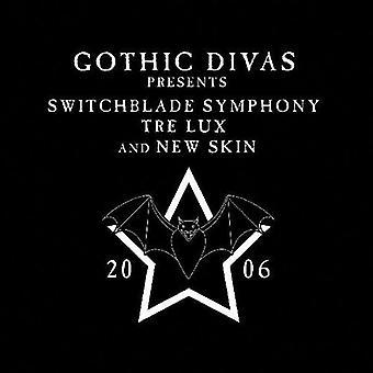 Switchblade Symphony/Tre Lux/New Skin - gotico Divas presenta [CD] USA import