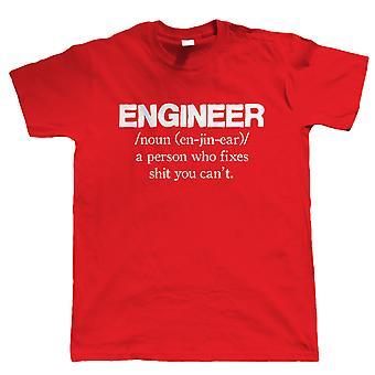 Ingenieur, Mens Funny T-Shirt