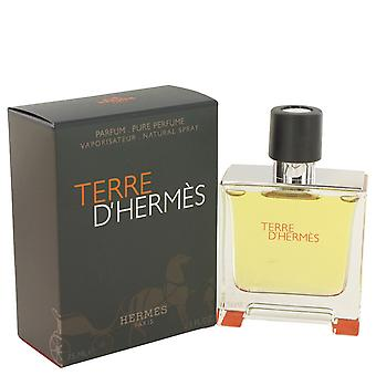 Hermes Men Terre D'hermes Pure Pefume Spray By Hermes