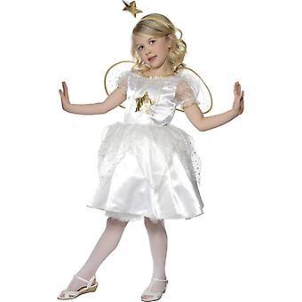 Bambino di angelo di Natale angelo costume vestito 3-5J