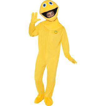 Arcobaleno zippy costume Body contiene guanti e testa taglia M