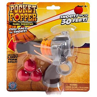 Cheatwell Games poche Popper Sling Shooter - Shooter de mousse souple ***