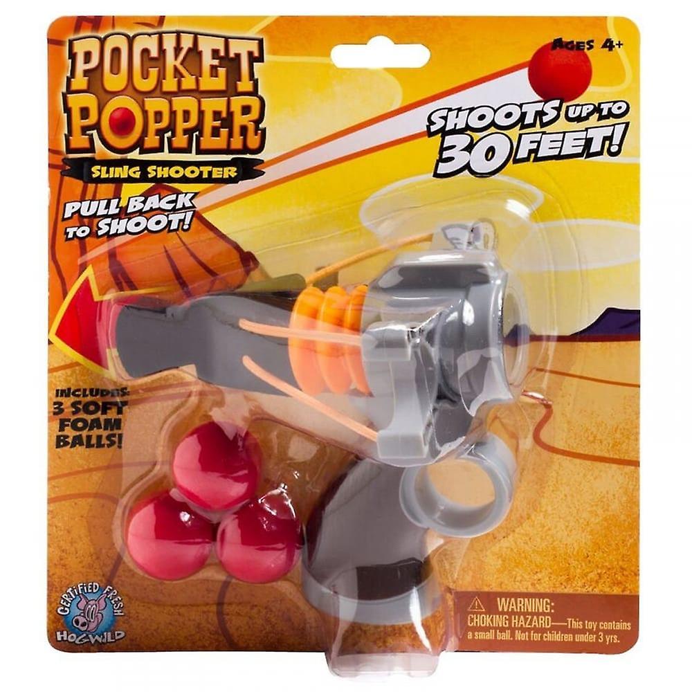 Cheatwell Games Pocket Popper Sling Shooter - Soft Foam Shooter**^
