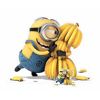 Minion Holding Bananas Cardboard Cutout / Standee / Stand up