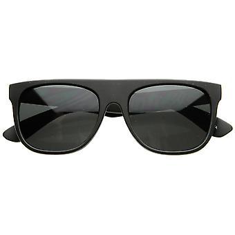 Designer inspiriert modernen Super Flat Top Horn umrandeten Sonnenbrille