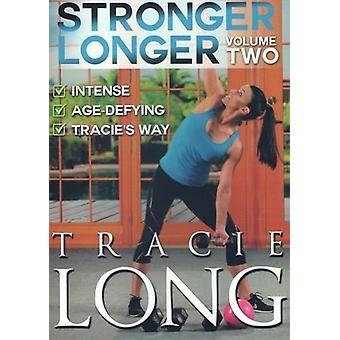 Stærkere længere bind 2 (Fitness) [DVD] USA importerer