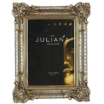Juliana Impressions Classical Design Resin Photo Frame 5x7 - Gold