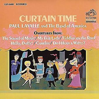 Paul Lavalle - importación de USA de cortina de tiempo [CD]