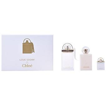 Chloe Love Story Pack 3 Piezas (Perfumes , Packs)