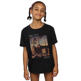 Pink Floyd Girls Animals Poster T-Shirt