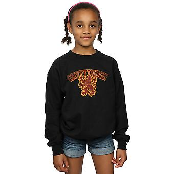 Harry Potter flickor Gryffindor Sport Emblem Sweatshirt