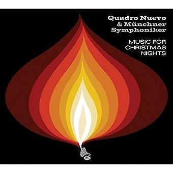 Quadro Nuevo & Munchner Symphoniker - musik til jul nætter [CD] USA import
