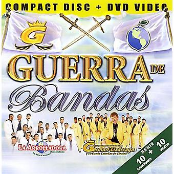 La Arrolladora/tyske Lizarrag - Guerra De Bandas [CD] USA import