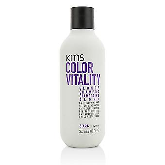 KMS California farve vitalitet Blonde Shampoo (Anti-gulfarvning og restaureret Radiance) - 300ml/10.1 oz