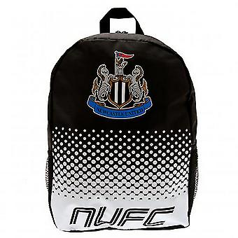 Newcastle United FC Official Fade Football Crest Backpack/Rucksack
