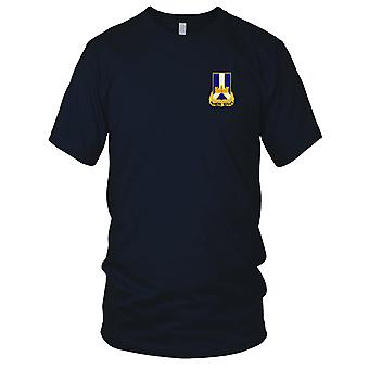 US Army - 393rd Infantry Regiment Embroidered Patch - Ladies T Shirt