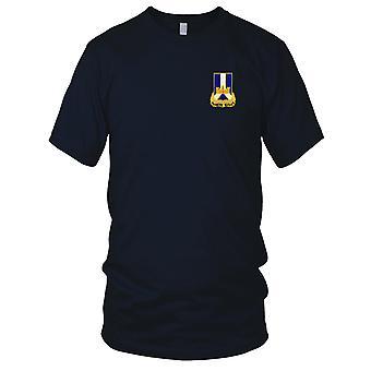 Pułku Piechoty - 393rd armii USA haftowane Patch - Panie T Shirt