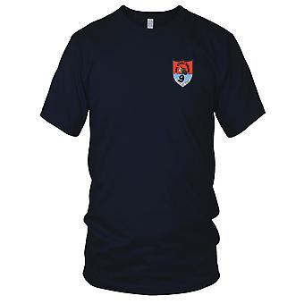 US Navy Rivron 9 Naval River Assault Squadron Nine Embroidered Patch - Slow But Sure Ladies T Shirt