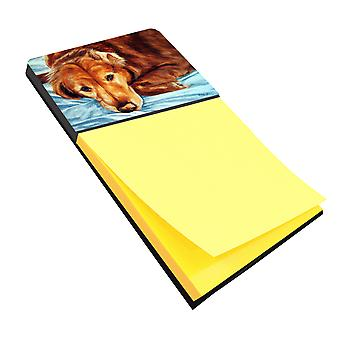 Golden Retriever by Tanya and Craig Amberson Sticky Note Holder