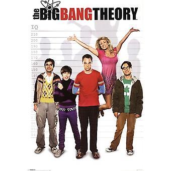 Big Bang Theory-Poster-Plakat-Druck