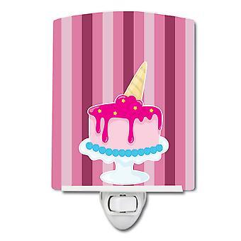 Carolines Treasures  BB9061CNL Ice Cream Cone Cake Ceramic Night Light
