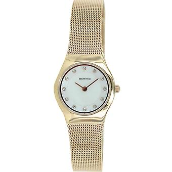 Bering ladies slim watch clock classic - 11923-366 Meshband