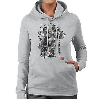 Jojos Bizarre Adventure Za Warudo Sumie Women's Hooded Sweatshirt