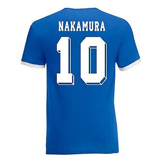 Shinsuke Nakamura Japan Ringer Tee (blau)