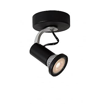 Lucide XANTRA Spot LED GU10/5W inkl. dimmbare 320LM schwarz