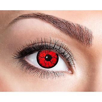 Devil alien robot Halloween contact lenses
