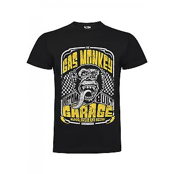 Gas monkey garage T-Shirt custom built-in yellow