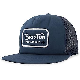 Brixton Grade Mesh Cap - Light Navy