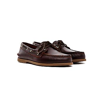 Sperry Classic Leather Boat Shoe Purple