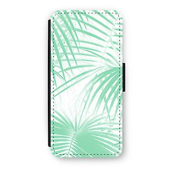 iPhone 5c Flip Case - Palm leaves
