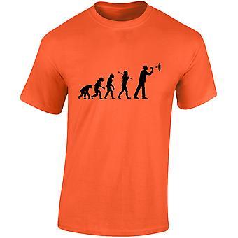 Darten evolutie Mens T-Shirt 10 kleuren (S-3XL) door swagwear