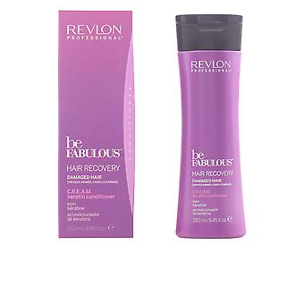 Revlon Be Fabulous Hair Recovery Cream Conditioner 250ml New Unisex