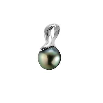 Silver 925/1000 and Tahitian Pearl pendant