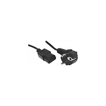 EXC AC Power Cord cord set appliance cord 7-5 m-Angled