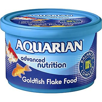 Aquarian Goldfish Fresh Water Fish Flake Food Complete Fish Food 200g