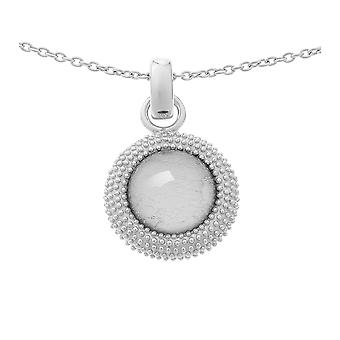 Orphelia Silver 925 Chain With Pendant Silver Sheet   ZH-6041