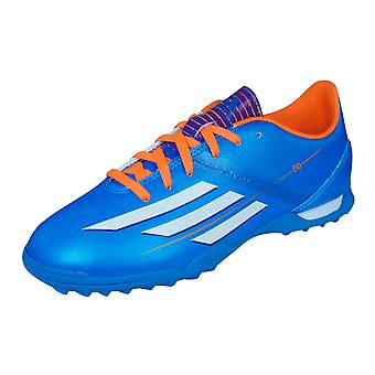 Adidas Kids Astro Turf Football formateurs F10 TRX TF J - bleu