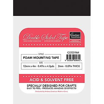 Couture Creations Foam Mounting Tape 12mmX4m