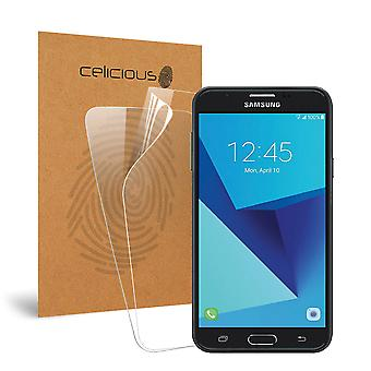 Celicious Vivid Invisible Screen Protector for Samsung Galaxy J7 V [Pack of 2]