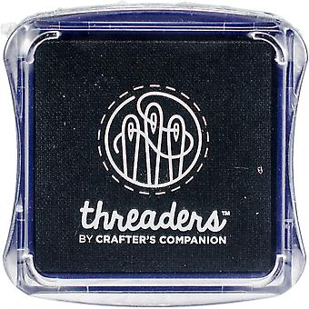 Crafter's Companion Threaders Fabric Ink Pads-Black