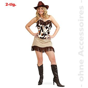 Cowgirl Rodeo Lady costume ladies Rodeo rider Rancherin Lady costume