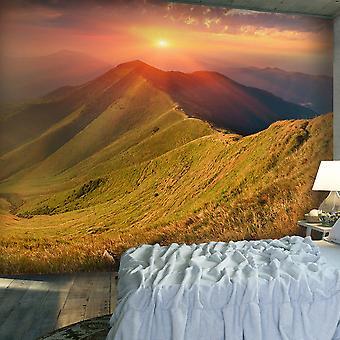 Wallpaper - Beautiful autumn landscape, Carpathians