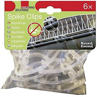 Clip Swissinno Spike-Clips 1 238 001K Suitable for Swissinno Pigeon spikes 6 pc(s)
