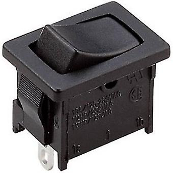 Toggle switch A125B11000000 250 V AC 10 A 1 x On/Off/On latch/0/latch 1 pc(s)