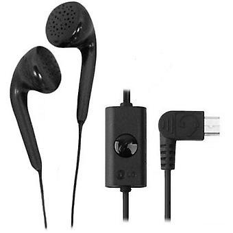 LG Micro-USB Stereo Earbud Headset for LG A340, CF360, dLite GD570, GD710 Shine
