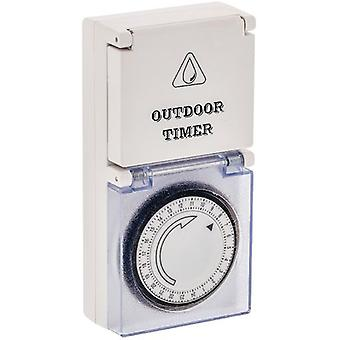 Valueline ANALOG timer 24 Hours Outdoor Living (DIY , Electricity , Switches and sockets)